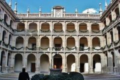 Fachada interior de la Universidad