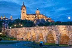 Vista panorámica de Salamanca